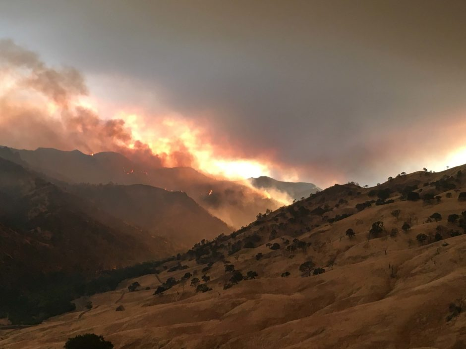 August 2020 Bobcat Fire; © Dash Weidhofer