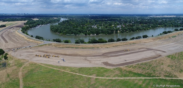 Southport Levee Improvement Project, © SkyHigh Perspectives, used with permission.