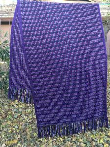 Woven Shawl by Alison Kent